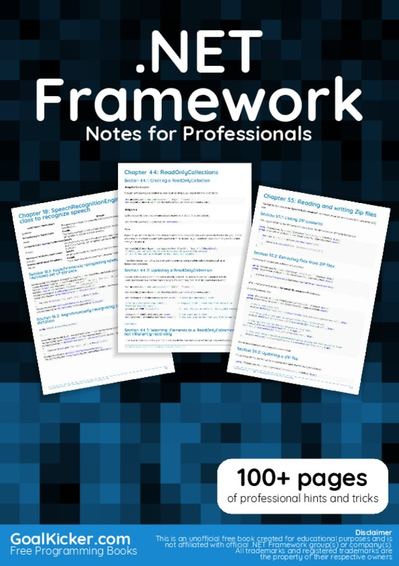 01_DotNETFrameworkNotesForProfessionals.pdf
